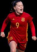 Claudia Pina football render