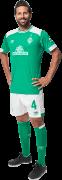 Claudio Pizarro football render