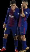 Philippe Coutinho & Jordi Alba