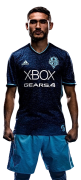 Cristian Roldan football render