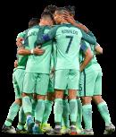 Cristiano Ronaldo, André Silva, Andre Gomes, Cédric Soares, Raphaël Guerreiro & Bruno Alves