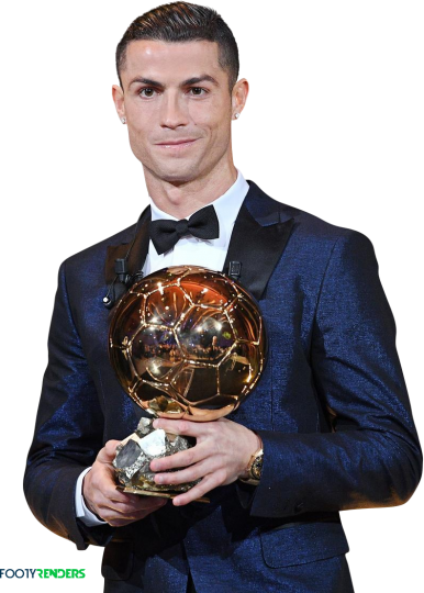 Cristiano Ronaldo Ballon D Or 2017 Football Render 42422