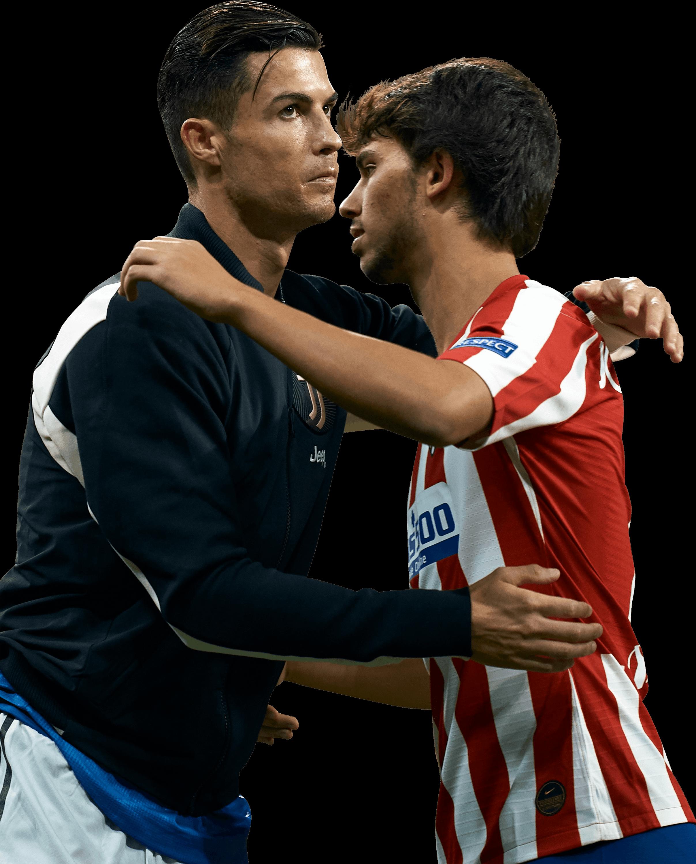 Cristiano Ronaldo Joao Felix Football Render 59590 Footyrenders