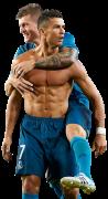 Cristiano Ronaldo & Toni Kroos