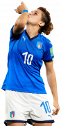 Cristiana Girelli football render