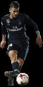 Dani Ceballos football render