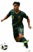 Daniel Arzani football render
