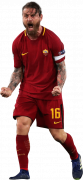 Daniele De Rossi football render