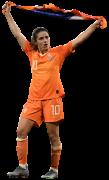 Danielle Van De Donk football render