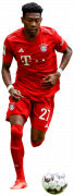 David Alaba football render