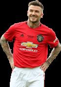David Beckham football render