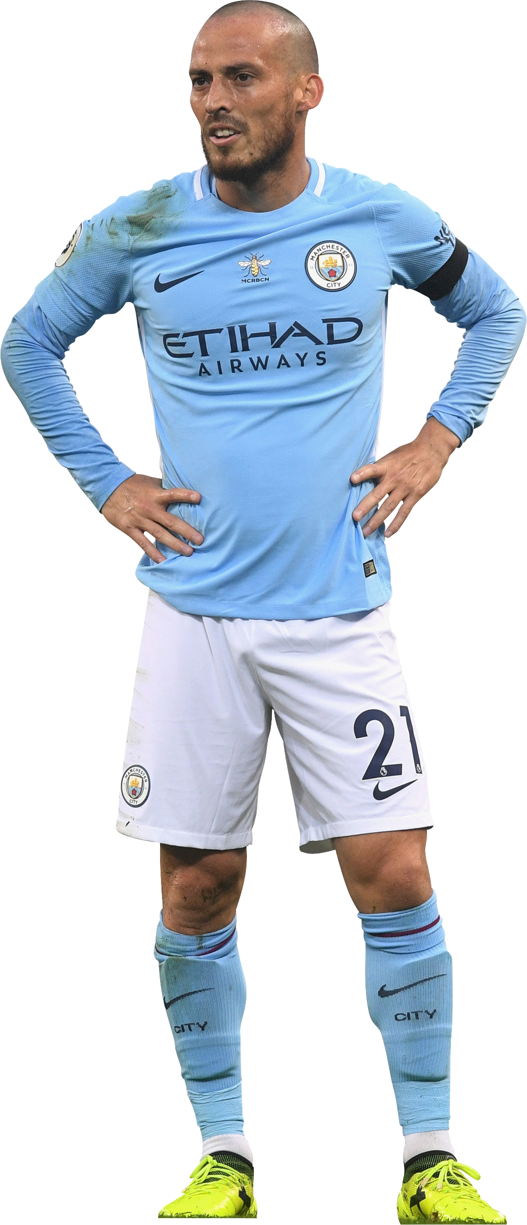 David Silva football render FootyRenders
