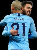 David Silva & Bernardo Silva