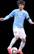 David Villa football render
