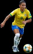 Debinha de Oliveira football render