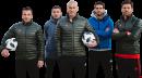 Alessandro Del Piero, Lukas Podolski, Zinedine Zidane, Kaka & Xabi Alonso
