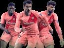 Ousmane Dembele, Philippe Coutinho & Gerard Pique