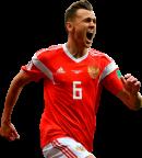 Denis Cheryshev football render