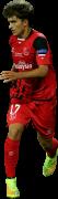 Denis Suarez football render