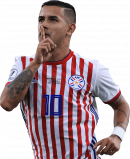 Derlis Gonzalez football render