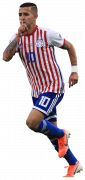 Derlis González football render