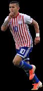 Derlis González football render