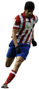 Diego Costa football render