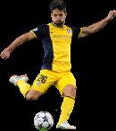 Diego Ribas football render