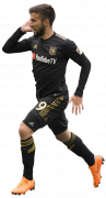 Diego Rossi football render