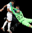 Dominic Solanke, Paul Bernardoni & Lucas Tousart football render