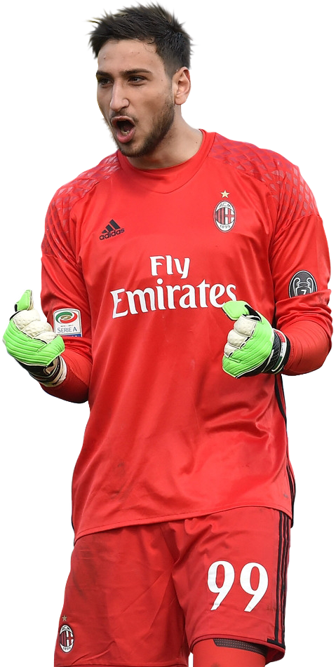 Gianluigi Donnarumma render