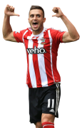 Dusan Tadic football render