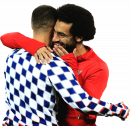 Eden Hazard & Mohamed Salah