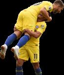Eden Hazard & Pedro Rodriguez