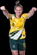 Elise Kellond-Knight football render