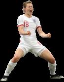 Ellen White football render