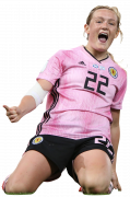 Erin Cuthbert football render