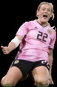 Erin Cuthbert football render