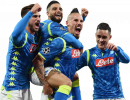 Fabian Ruiz, Lorenzo Insigne, Marek Hamsik & José Callejón football render
