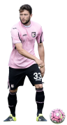 Fabio Daprela football render