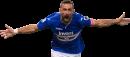 Fabio Quagliarella football render