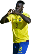 Felipe Caicedo football render
