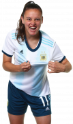 Florencia Bonsegundo football render