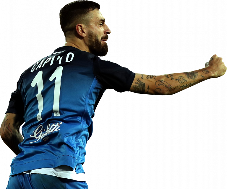 Francesco Caputo football render - 50858 - FootyRenders