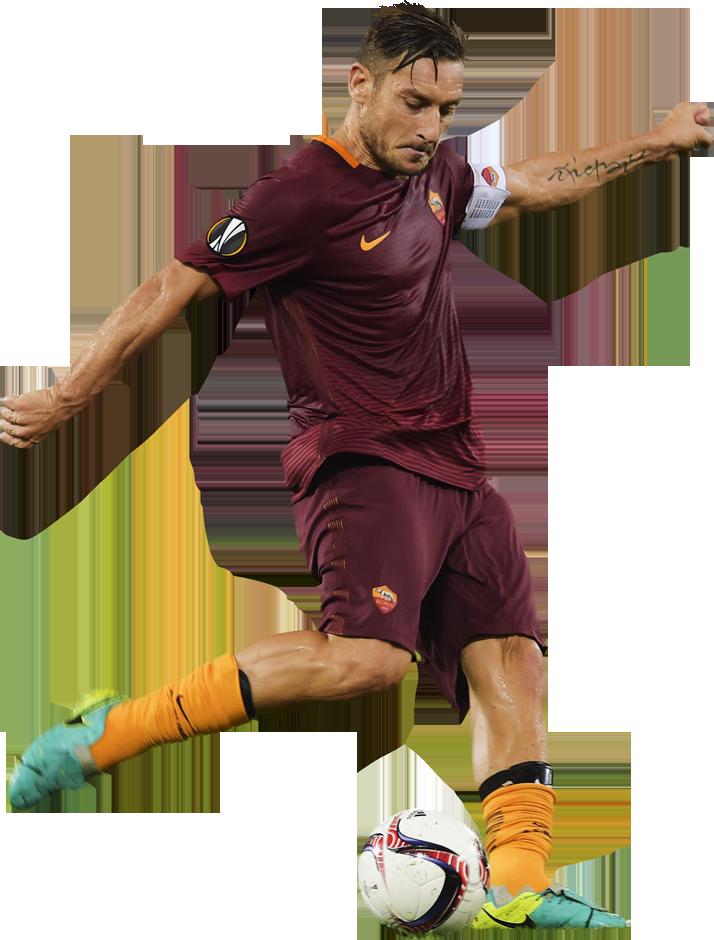 Francesco Totti football render - 32754 - FootyRenders
