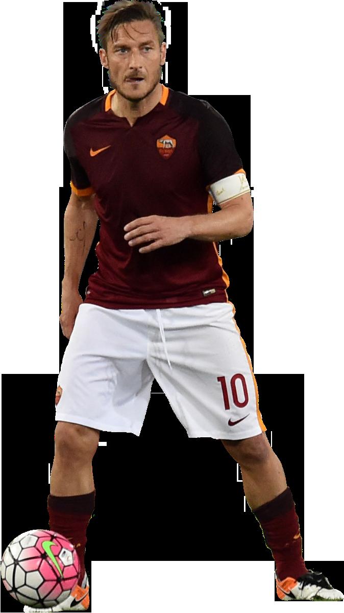 Francesco Totti football render - 25281 - FootyRenders