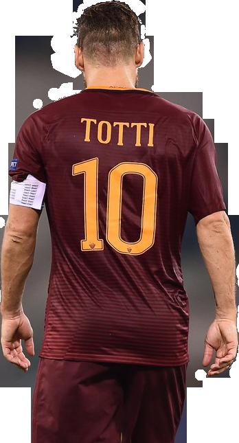 Francesco Totti football render - 33628 - FootyRenders
