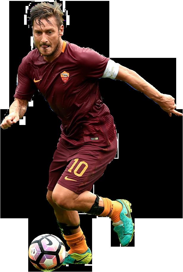 Francesco Totti football render - 29766 - FootyRenders