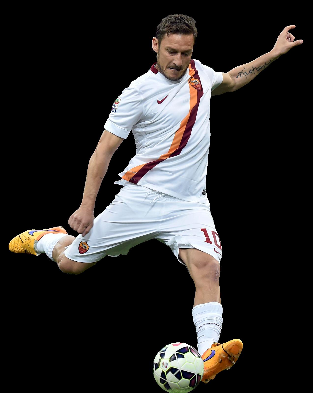 Francesco Totti football render - 13168 - FootyRenders