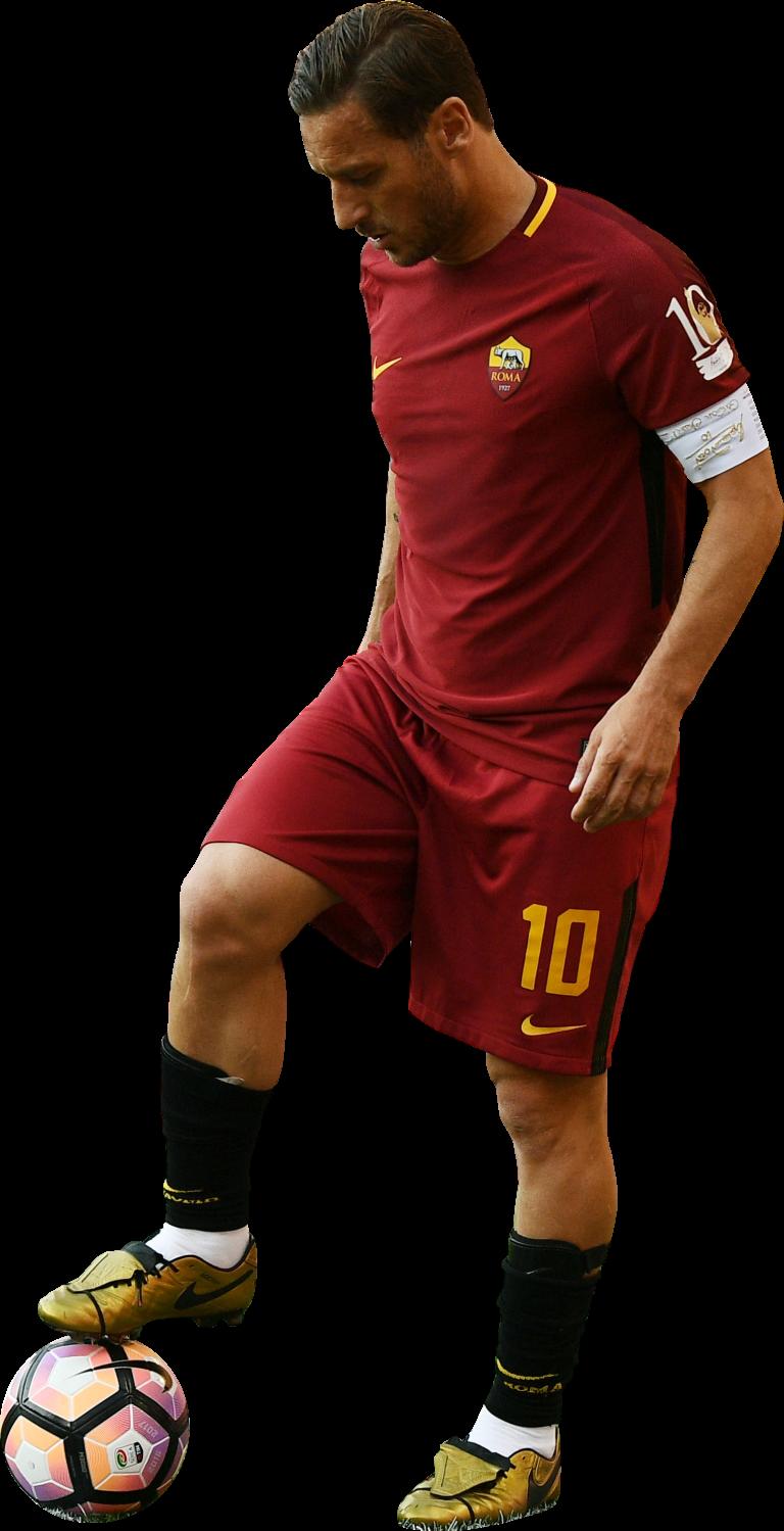 Francesco Totti football render - 37208 - FootyRenders